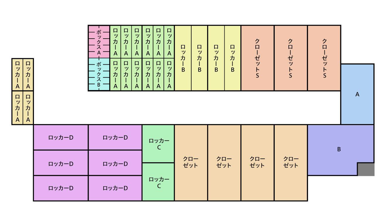 レンタル倉庫 JOY SPACE ジョイスペース MAP